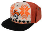 Oklahoma State Cowboys Top of the World NCAA Ugly Sweater Strapback Cap Adjustable Hats