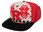 Rutgers Scarlet Knights Top of the World NCAA Ugly Sweater Strapback Cap Adjustable Hats