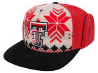 Texas Tech Red Raiders Top of the World NCAA Ugly Sweater Strapback Cap Adjustable Hats