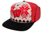 Wisconsin Badgers Top of the World NCAA Ugly Sweater Strapback Cap Adjustable Hats
