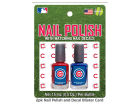 Chicago Cubs 2-pack Nail Polish w/ Decals Apparel & Accessories