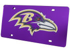 Baltimore Ravens Rico Industries Acrylic Laser Tag Auto Accessories