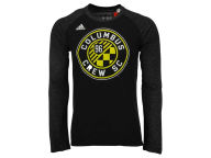 adidas MLS Men's Logo Sleeve Long Sleeve T-Shirt T-Shirts