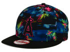 Los Angeles Angels of Anaheim New Era MLB Dark Tropic 9FIFTY Snapback Cap Adjustable Hats