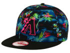 Arizona Diamondbacks New Era MLB Dark Tropic 9FIFTY Snapback Cap Adjustable Hats