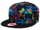 Los Angeles Dodgers New Era MLB Dark Tropic 9FIFTY Snapback Cap Adjustable Hats