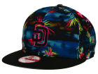 San Diego Padres New Era MLB Dark Tropic 9FIFTY Snapback Cap Adjustable Hats