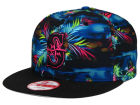 Seattle Mariners New Era MLB Dark Tropic 9FIFTY Snapback Cap Adjustable Hats