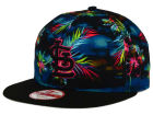 St. Louis Cardinals New Era MLB Dark Tropic 9FIFTY Snapback Cap Adjustable Hats
