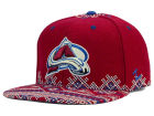 Colorado Avalanche Zephyr NHL Ugly Sweater Snapback Hat Adjustable Hats
