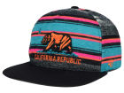 California Cal Chapparal Stripe Snapback Hat Adjustable Hats
