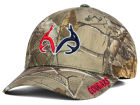 Houston Cougars Top of the World NCAA Realtree XB1 Camo Cap Stretch Fitted Hats
