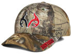 Louisiana Ragin' Cajuns Top of the World NCAA Realtree XB1 Camo Cap Stretch Fitted Hats