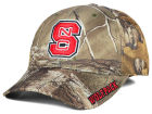 North Carolina State Wolfpack Top of the World NCAA Realtree XB1 Camo Cap Stretch Fitted Hats