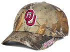 Oklahoma Sooners Top of the World NCAA Realtree XB1 Camo Cap Stretch Fitted Hats