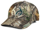 South Florida Bulls Top of the World NCAA Realtree XB1 Camo Cap Stretch Fitted Hats