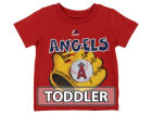 Los Angeles Angels Majestic MLB Toddler Baseball Mitt T-Shirt T-Shirts
