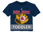 Boston Red Sox Majestic MLB Toddler Baseball Mitt T-Shirt T-Shirts