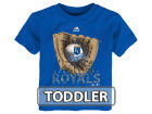 Kansas City Royals Majestic MLB Toddler Baseball Mitt T-Shirt T-Shirts