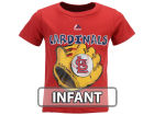 St. Louis Cardinals Majestic MLB Infant Baseball Mitt T-Shirt Infant Apparel
