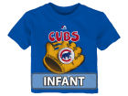 Chicago Cubs Majestic MLB Infant Baseball Mitt T-Shirt Infant Apparel