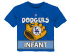 Los Angeles Dodgers Majestic MLB Infant Baseball Mitt T-Shirt Infant Apparel