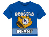 Majestic MLB Infant Baseball Mitt T-Shirt Infant Apparel
