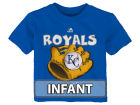 Kansas City Royals Majestic MLB Infant Baseball Mitt T-Shirt Infant Apparel