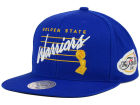 Golden State Warriors Mitchell and Ness NBA 2015 Finals Patch Snapback Cap Adjustable Hats