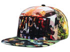 Marvel Marvel Heroes All Over Sublimation Snapback Hat Adjustable Hats