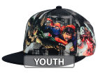 DC Comics Youth Skyline Flying Snapback Hat Adjustable Hats