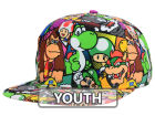 Nintendo Mario Full Roll Snapback Hat Adjustable Hats