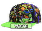 Teenage Mutant Ninja Turtles Full Color Youth Snapback Hat Adjustable Hats