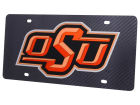 Oklahoma State Cowboys Carbon Laser Tag Auto Accessories