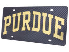 Purdue Boilermakers Carbon Laser Tag Auto Accessories