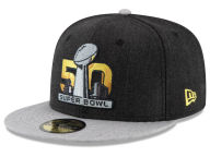 New Era NFL Super Bowl 50 Heather Action 59FIFTY Cap Fitted Hats