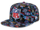 New Era NFL Super Bowl 50 All Over Logo 9FIFTY Snapback Cap Adjustable Hats