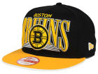Boston Bruins New Era NHL Ice Block 9FIFTY Snapback Cap Adjustable Hats