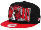 Chicago Blackhawks New Era NHL Ice Block 9FIFTY Snapback Cap Adjustable Hats