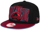 Colorado Avalanche New Era NHL Ice Block 9FIFTY Snapback Cap Adjustable Hats