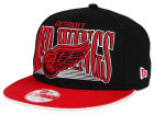 Detroit Red Wings New Era NHL Ice Block 9FIFTY Snapback Cap Adjustable Hats