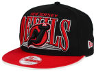 New Jersey Devils New Era NHL Ice Block 9FIFTY Snapback Cap Adjustable Hats