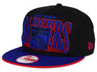 New York Rangers New Era NHL Ice Block 9FIFTY Snapback Cap Adjustable Hats