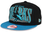 San Jose Sharks New Era NHL Ice Block 9FIFTY Snapback Cap Adjustable Hats