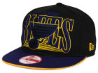 St. Louis Blues New Era NHL Ice Block 9FIFTY Snapback Cap Adjustable Hats