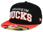 Anaheim Ducks New Era NHL Double Flip 9FIFTY Snapback Cap Adjustable Hats