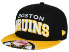 Boston Bruins New Era NHL Double Flip 9FIFTY Snapback Cap Adjustable Hats