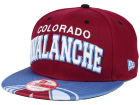Colorado Avalanche New Era NHL Double Flip 9FIFTY Snapback Cap Adjustable Hats