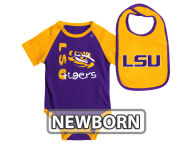 Colosseum NCAA Newborn Rookie Onesie & Bib Set Infant Apparel