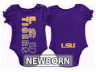 LSU Tigers Colosseum NCAA Newborn Girls Sunset Creeper Outfits
